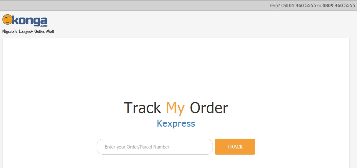 Konga track order